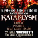 Concert Kataklysm marti in Club Silver Church din Bucuresti
