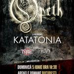 Castiga 5 bilete la concertul Opeth si Katatonia! Pe Facebook!