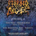 Filmari cu Morbid Angel in Australia