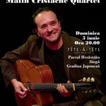 Concert Jazz Manouche: Malin Cristache Quartet in Tete-a-Tete