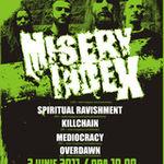 Programul concertului Misery Index la Bucuresti