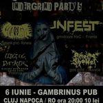 Undergrind Party 5 in Gambrinus Pub din Cluj