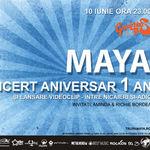 Concert aniversar Maya in Gambrinus Pub din Cluj