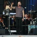 Poze de la concertul Sting la Bucuresti