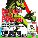 In premiera la Bucuresti: British Sea Power in Silver Church!