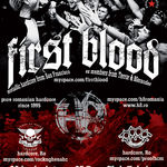 Concert First Blood si H8 in Club Fabrica din Bucuresti