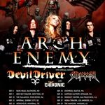 Arch Enemy merg in turneu cu DevilDriver, Skeletonwitch si Chthonic