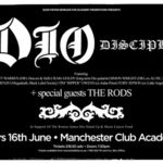 K.K. Downing a mers la concertul Dio Disciples din Manchester