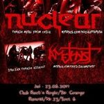 Concert Amethyst si Nuclear in Rock'n Regie Bar din Bucuresti