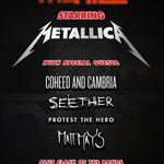 Concertul Metallica din Halifax se apropie de sold out