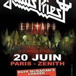 Filmari cu Judas Priest in Paris