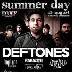 Parazitii canta in deschiderea concertului Deftones la Bucuresti
