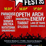 Opeth, Arch Enemy si altii la Kavarna Rock Fest 2011