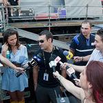 Poze din backstage-ul concertului Bon Jovi