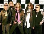 Filmari din studio cu Aerosmith