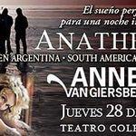 Filmari cu Anneke Van Giersbergen in Argentina