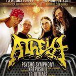A mai ramas o saptamana pana la concertele Atheist in Romania