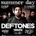 Programul concertului Deftones la Bucuresti
