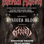 Infernal Majesty au cantat alaturi de solistul Cannibal Corpse (video)