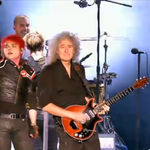 Brian May a cantat cu My Chemical Romance (video)