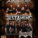 Anthrax, Testament si Death Angel pornesc in turneu