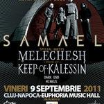 Concert Samael, Melechesh si multi altii vineri in Cluj-Napoca