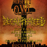 Mighty Owl Festival duminica seara in Fabrica! Decapitated headliner!