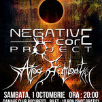 Negative Core Project si Apa Sambetii in concert la Damage club
