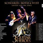 Turneul 3 Guitar Heores (Schenker, Roth, West ) sufera modificari