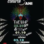 Club Control aniverseaza 3 ani cu un concert The Whip si multe surprize