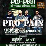 Detalii despre concertele Pro-Pain in Romania