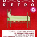 Omul Cu Sobolani lanseaza albumul Retro in club Fabrica din Bucuresti