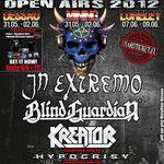 Primele nume confirmate pentru circuitul Metalfest 2012