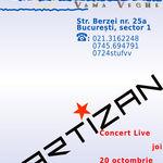 Concert Partizan la Stuf Vama Veche din Bucuresti