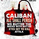 Caliban si All Shall Perish pornesc in turneu european