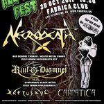 Concert Necrodeath si Riul Doamnei duminica in Club Fabrica