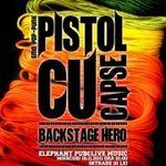 Concert Pistol Cu Capse si Backstage Hero in Elephant Pub