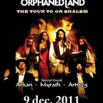 Concert Orphaned Land in decembrie la Bucuresti