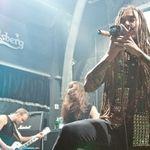 Poze cu Amorphis in concert la Bucuresti