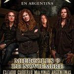 Filmari si interviu cu Megadeth in Argentina