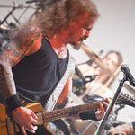 Poze cu Iced Earth in concert la Bucuresti