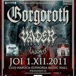 Modificari in programul concertului Gorgoroth si Vader la Cluj-Napoca