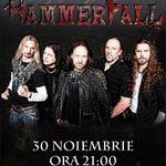 Concert Hammerfall miercuri la Hard Rock Cafe din Bucuresti