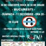 Concert Sanctuar si Razna in club Underworld din Bucuresti