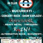 Concert Sanctuar si Razna in Underworld Bucuresti