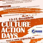 Culture Action Days: workshops, carte si altele in Cluj