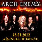 Castiga doua invitatii duble la Arch Enemy! Pe Facebook!