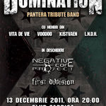 Concertul anual Domination (PANTERA tribute band) marti in Club Fabrica