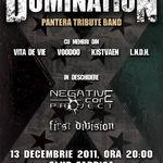 Concertul anual Domination (PANTERA tribute band) marti in Club Fabrica
