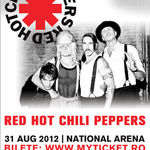 Red Hot Chili Peppers au cel mai scump concert de Revelion